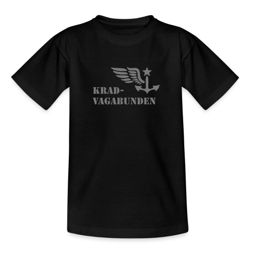 Krad-Vagabunden - Logo + Schriftzug - V2 - Kinder T-Shirt