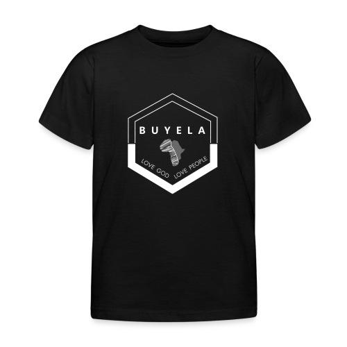 Buyela hexagon - Kinder T-Shirt