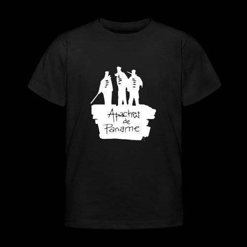 logo apache blanc - T-shirt Enfant