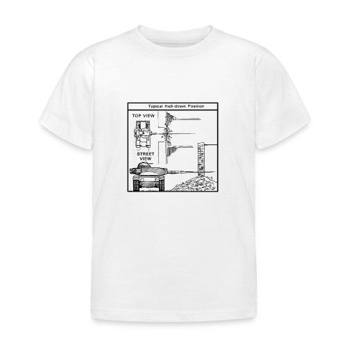 W.O.T War tactic, tank shot - Kids' T-Shirt