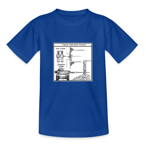 W.O.T War tactic, tank shot - Kids' T-Shirt