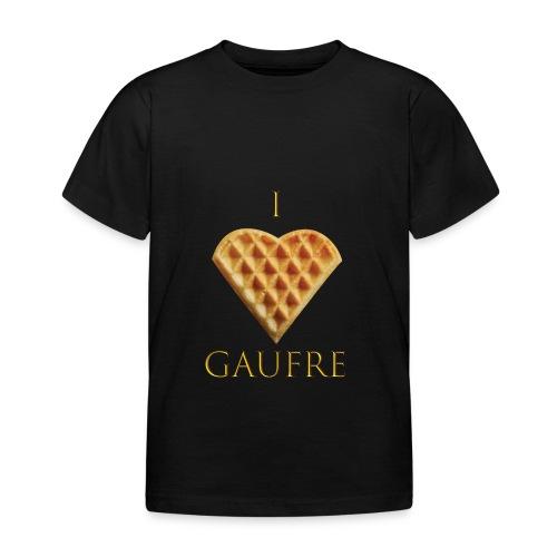i love gaufre - T-shirt Enfant