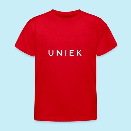unique - T-shirt Enfant