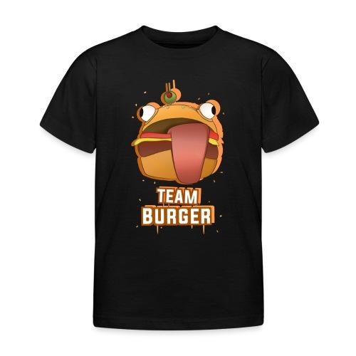 Team burguer - Camiseta niño