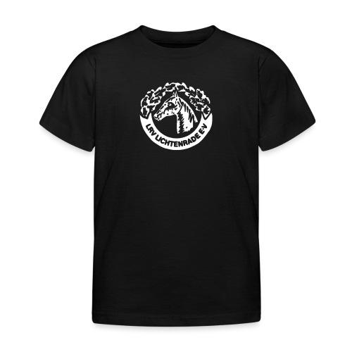 LRV_logo_white - Kinder T-Shirt