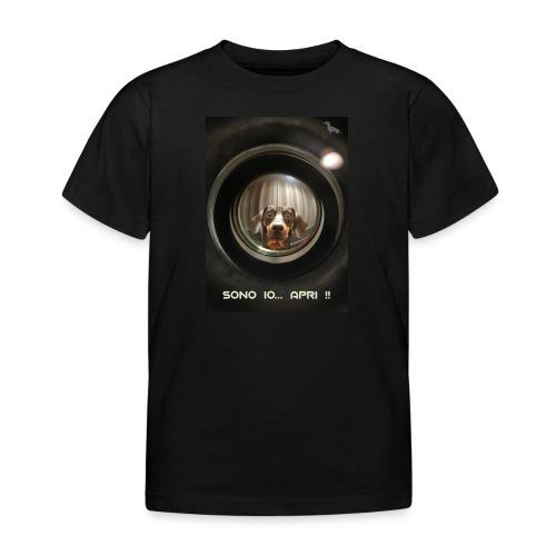 Bassotto allo Spioncino - Maglietta per bambini
