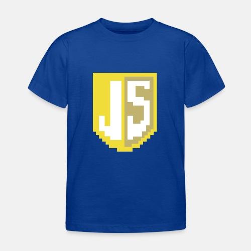 JavaScript Pixelart Logo - Kinder T-Shirt