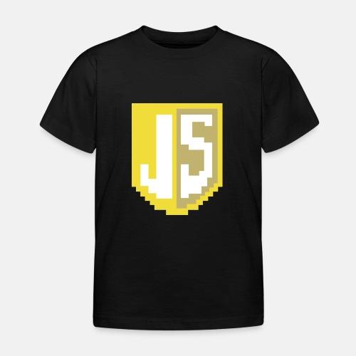 JavaScript Pixelart logo - Kids' T-Shirt