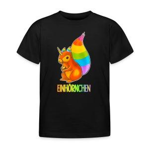 Einhörnchen - Kinder T-Shirt
