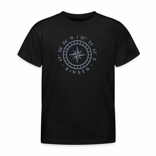 Bingen – Kompass - Kinder T-Shirt