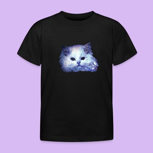 Gatto glitter - Maglietta per bambini