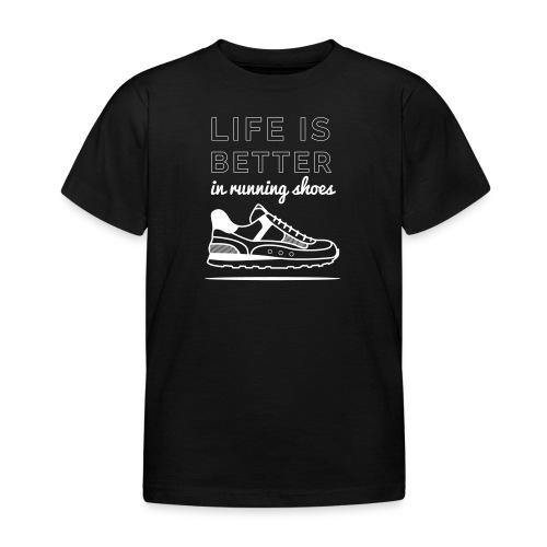 Running Shoes - Kinder T-Shirt