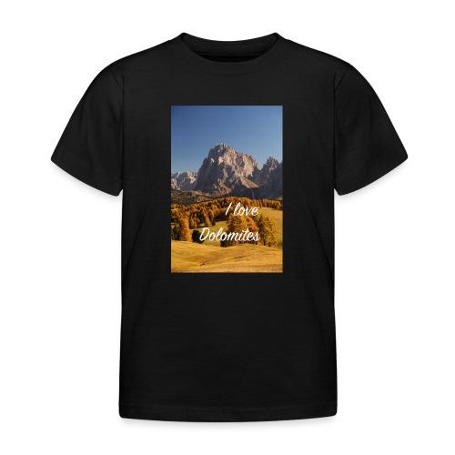 Langkofel - Wahrzeichen Südtirols - Kinder T-Shirt
