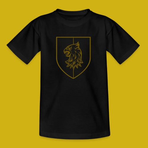 Vartija Crest Outline transparant - Kids' T-Shirt