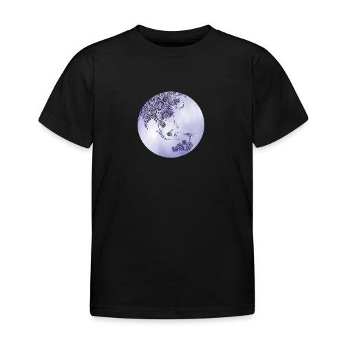 logo monde bleu - T-shirt Enfant