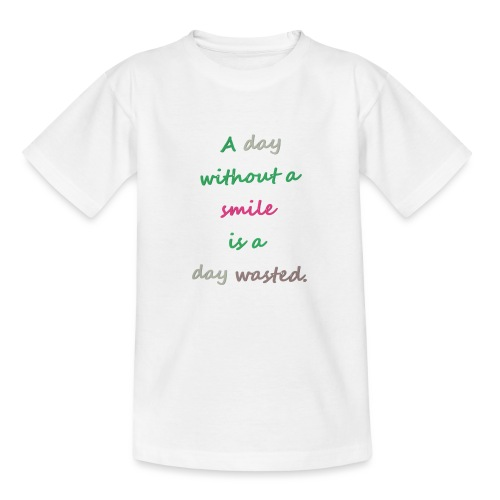 Say in English with effect - Kids' T-Shirt