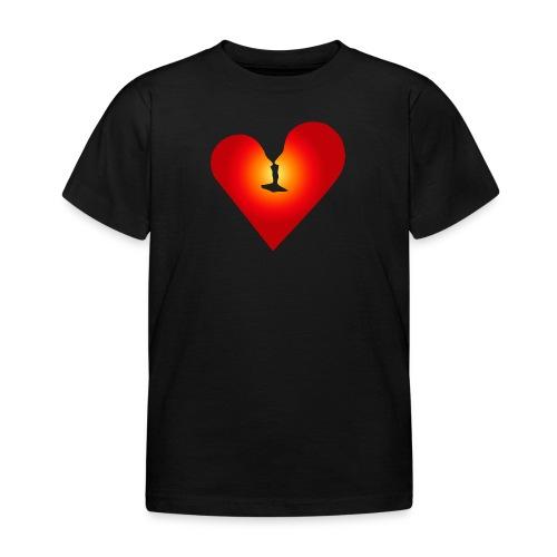 Ein Herz in Liebe - Kinder T-Shirt