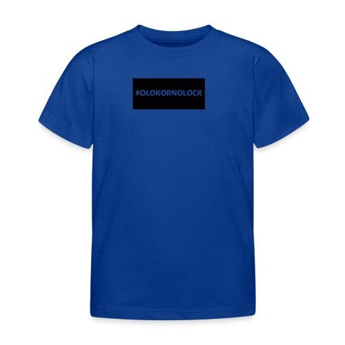 #OLOKORNOLOCK - T-shirt barn