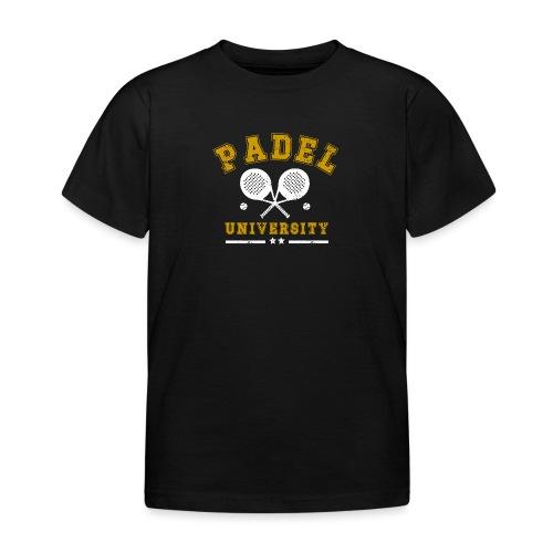 Padel University Vintage - T-shirt barn