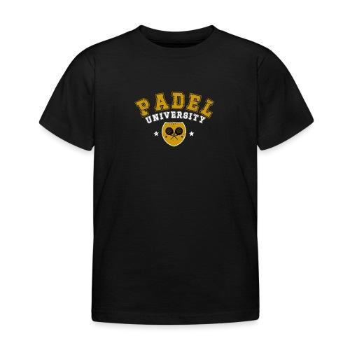 Padel Tennis Universitet Vintage - T-shirt barn