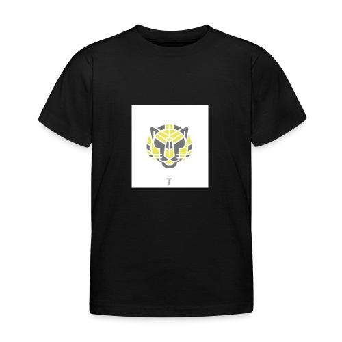 Tiger fra jungle - Børne-T-shirt