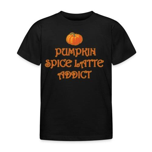 PumpkinSpiceAddict - Maglietta per bambini