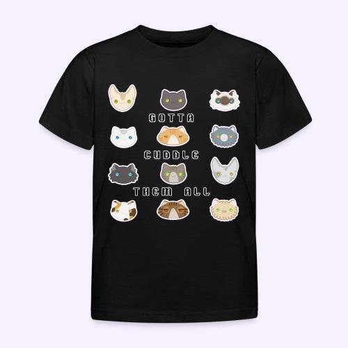 All the Cats - Maglietta per bambini