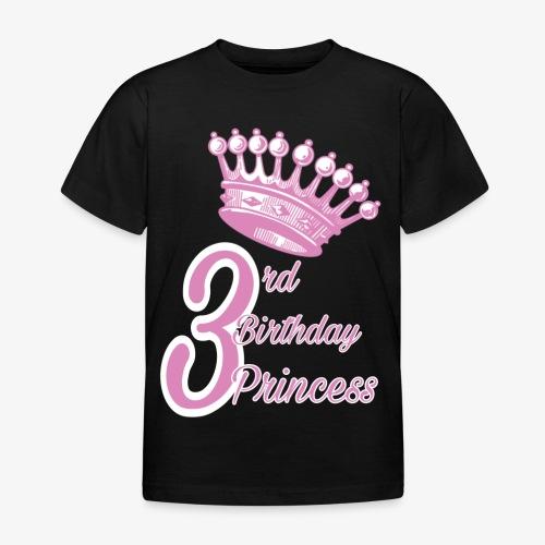 3rd Birthday Princess - Maglietta per bambini