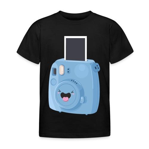 Appareil photo instantané bleu - T-shirt Enfant