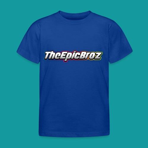 TheEpicBroz - Kinderen T-shirt