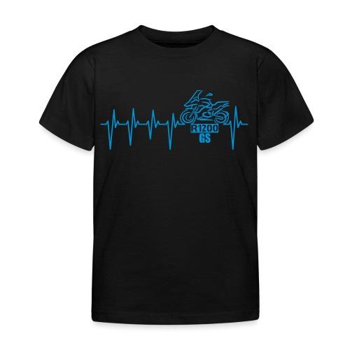 Motorrad Herzschlag Enduro Boxer R 1200 - Kinder T-Shirt