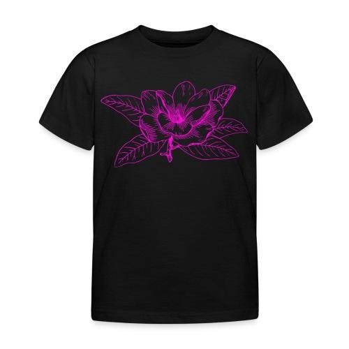 Camisetas y accesorios de flor color rosada - Camiseta niño