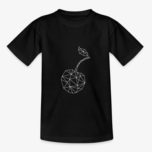 Frucht Kirsche geometrisch - Kinder T-Shirt