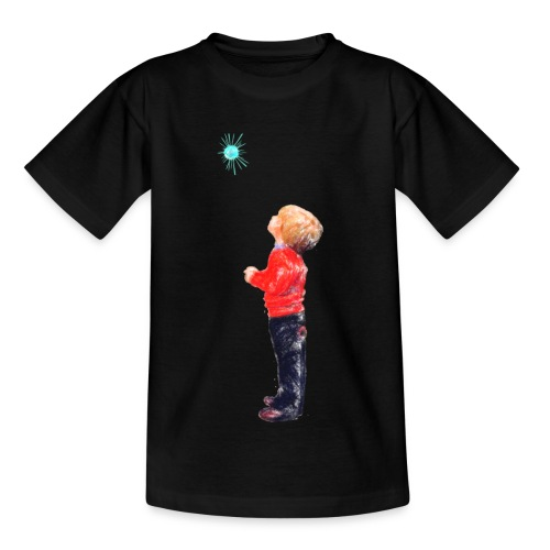 The Boy and the Blue - Kids' T-Shirt