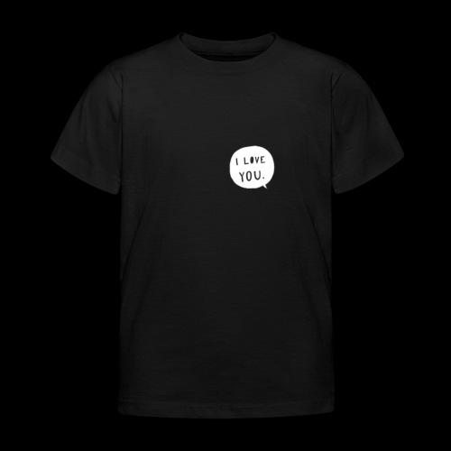 te amo - Camiseta niño