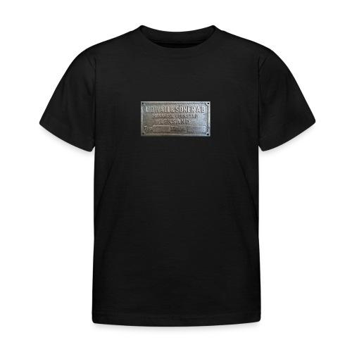 Tillverkningsskylt före 1967 - T-shirt barn