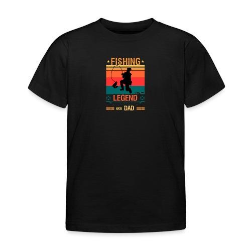 Fiskelegend Även Kallad Pappa Roliga Pappa tshirt - T-shirt barn
