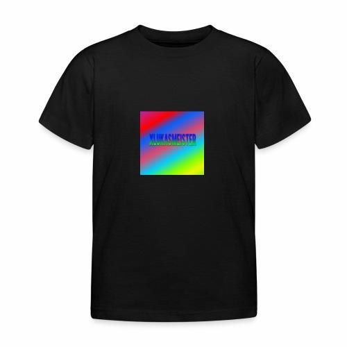 Lukas Minecraft Navn - Børne-T-shirt