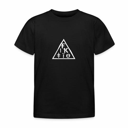 Fiktio - Lasten t-paita