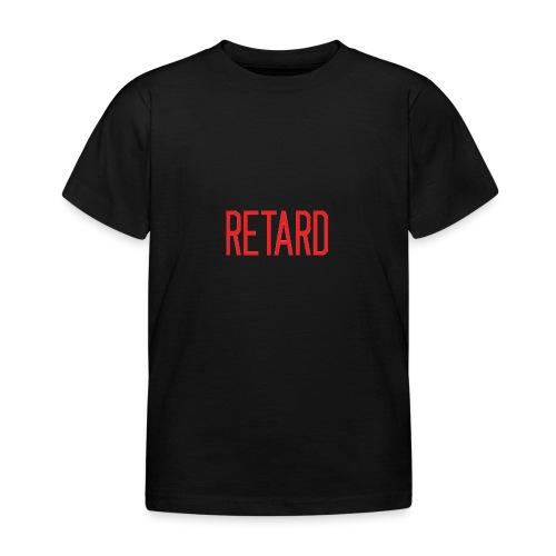 Retard Klær - T-skjorte for barn
