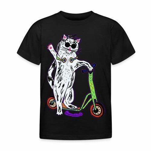 Chat Trottinette - Kids' T-Shirt