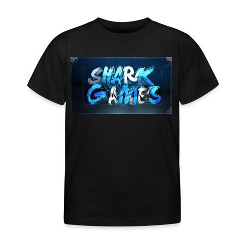 SharkGames - Maglietta per bambini