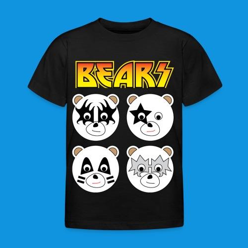 Kiss Bears square.png - Kids' T-Shirt