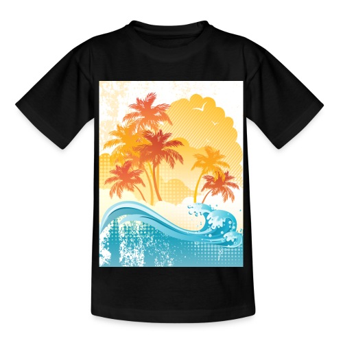 Palm Beach - Kids' T-Shirt