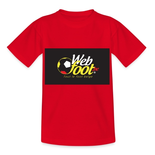 webfoot.be - T-shirt Enfant