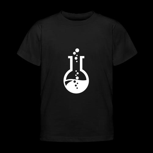 Reaktionsgefäß Kolben - Geschenk für Chemiker - Kinder T-Shirt