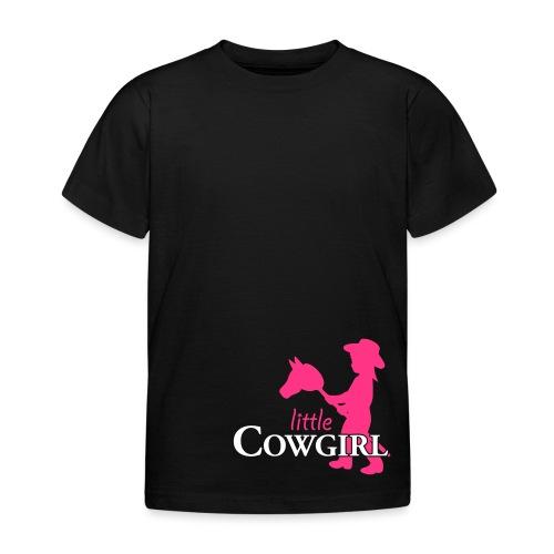 LittleCowgirl W - Kinder T-Shirt