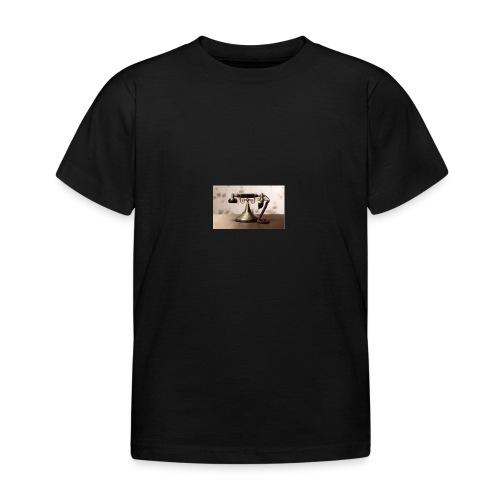 telefono - Camiseta niño