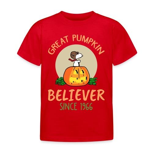 Great pumpkin believer since 1966 - Kids' T-Shirt