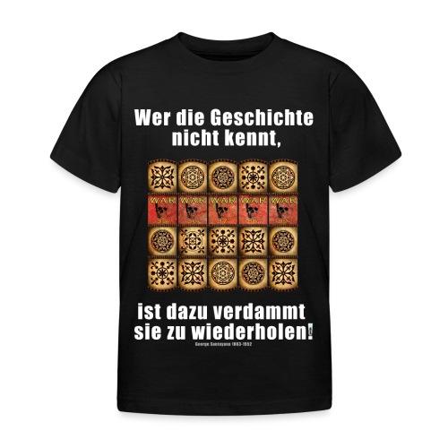 71_Geschichte_Lernen - Kinder T-Shirt